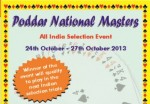 Poddar National Masters 2013 Entries