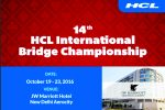 14th HCL International Bridge Championship