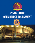 25th ANNUAL JUBILEE HILLS TOURNAMENT