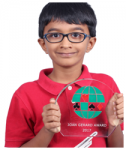8-year old Anshul Bhatt wins prestigious Joan Gerard Youth Award