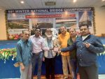 KAMLESH GUPTA SIX Wins the RUIA Silver Trophy