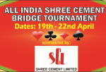 ALL INDIA SHREE CEMENT BRIDGE TOURNAMENT, KOLKATA