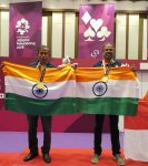 GOLDEN ERA FOR INDIAN BRIDGE BEGINS !! INDIA CLINCHES GOLD IN MEN PAIRS