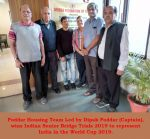 Dipak Poddar's Team Wins Senior Trials